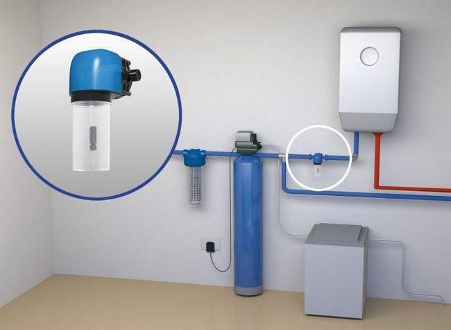 filtru de apă polifosfat