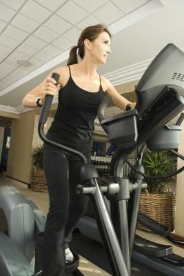 Asistent în pierderea în greutate - un simulator de elipsă