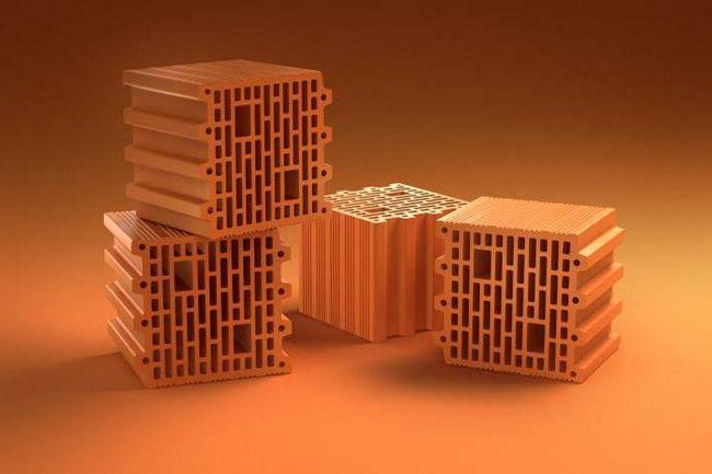 blocuri poroase ceramice mari