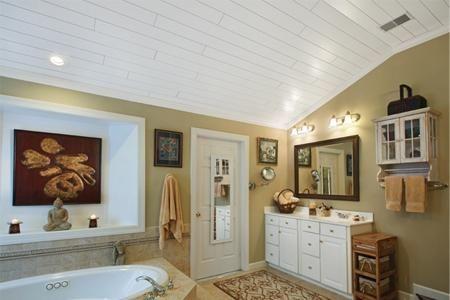 tavan în baie