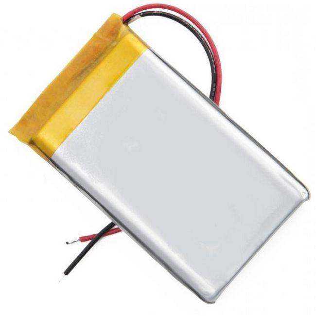 Litiu polimer baterie
