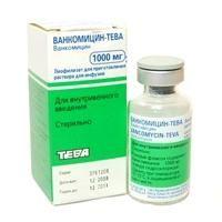 antibiotic vancomicină