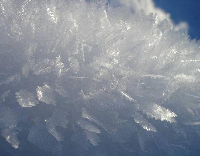 La ce temperatură se îngheață apa oenică