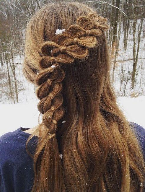 Coafuri cu benzi elastice pentru păr lung și mediu: idei și recomandări