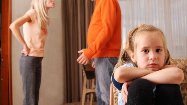 reacția copiilor la certuri