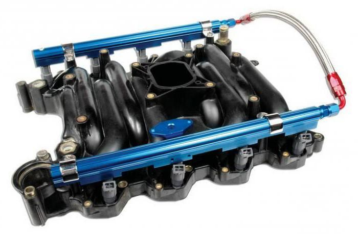 principiul funcționării motorului injectorului