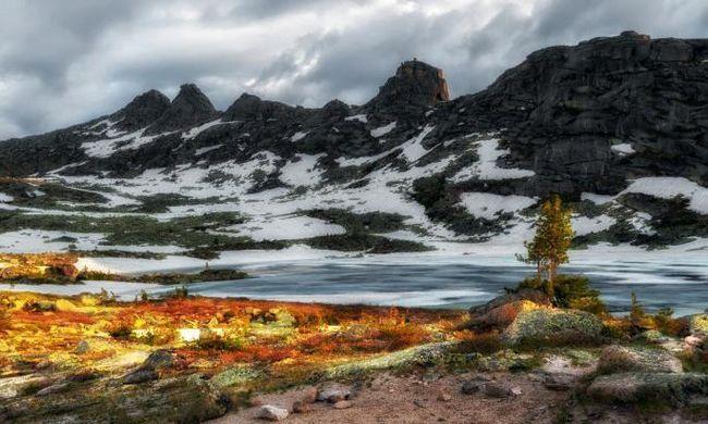 natura sălbatică a Siberiei