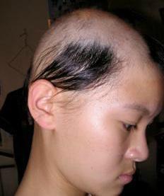buchet de păr