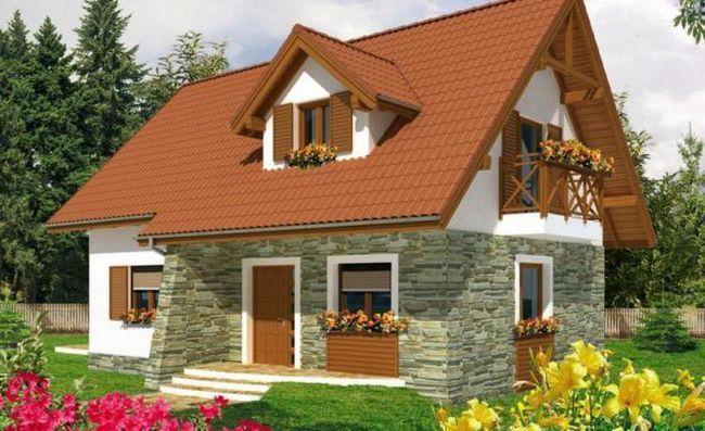 проект двухэтажного дома 6 8