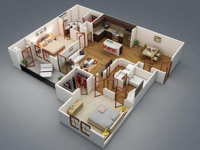 proiectare de case de apartamente