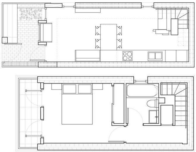 varianta de proiectare a unei case dintr-un bar