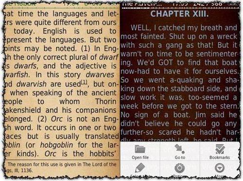 program pentru citirea cărților pentru Android