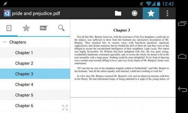 Cel mai bun program pentru citirea cărților pentru Android