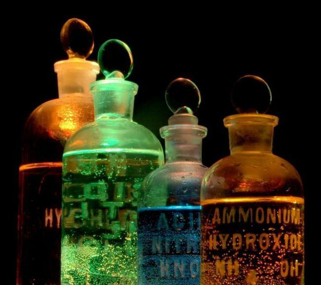 poveste despre originea cuvântului chimie