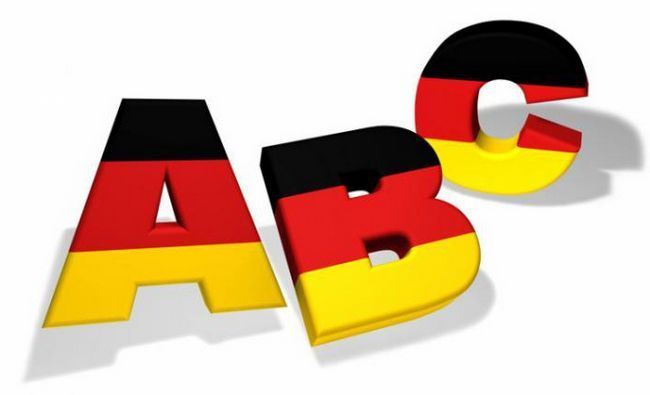 Pronunție German words