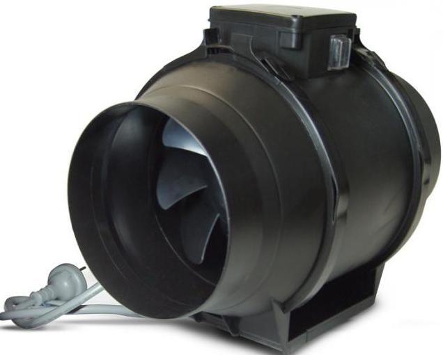 specificațiile ventilatoarelor industriale
