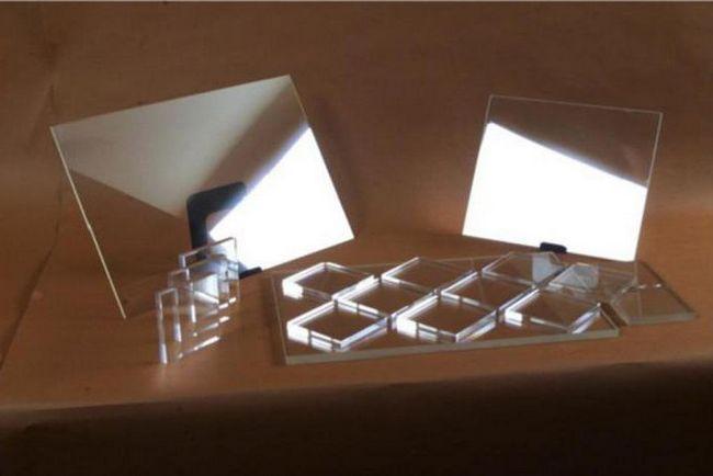 aluminiu transparent
