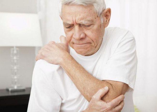 bursita articulației cotului