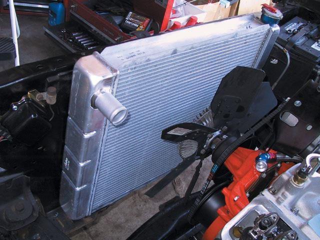 Radiator de aluminiu