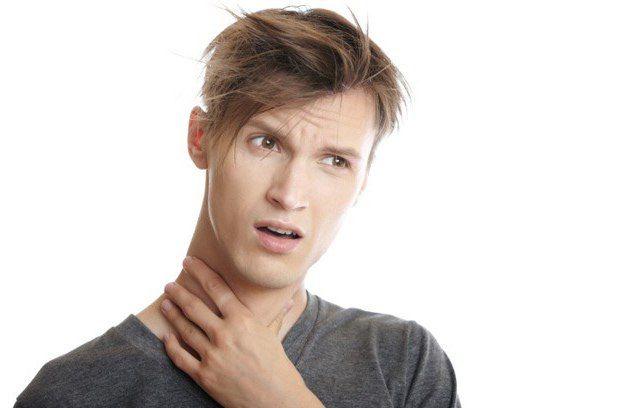 umflarea glandei tiroide
