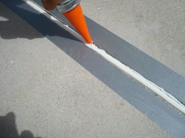 Consum de etanșant siliconic pentru 1 metru de funcționare