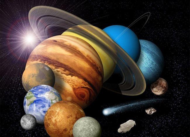 model de obiecte solare