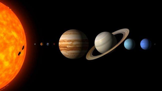 structura sistemului solar