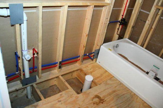 разводка холодной воды в квартире