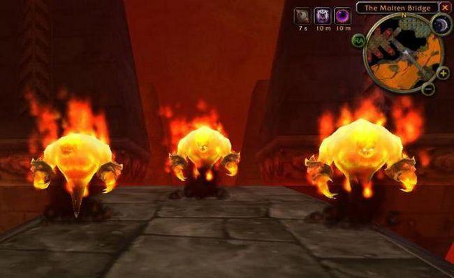 wow cum să lovească focul