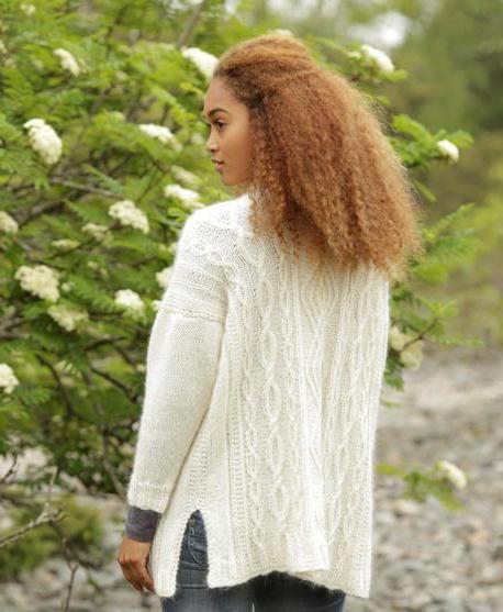 tricot cardigan cu ace de tricotat pentru femei descriere completă