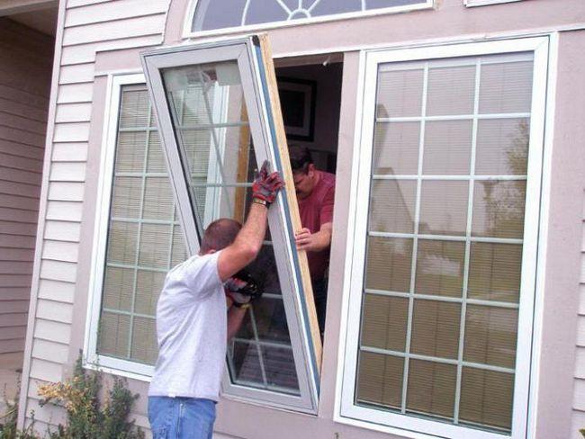 înlocuirea ferestrelor