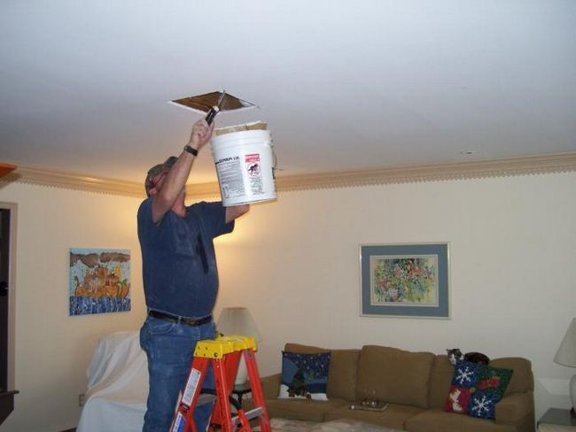 repararea plafonului