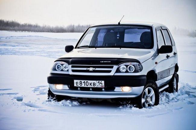 anvelope de iarnă pe Chevrolet Nivu