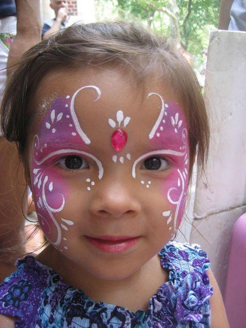 Desene pe fata pentru copii: idei, tehnica aplicarii acvariului