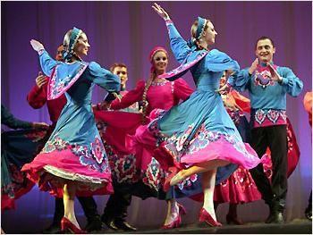 Dansul popular rus - istorie și realitate