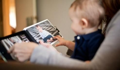 album pentru scrapbooking fata de nou-nascuti