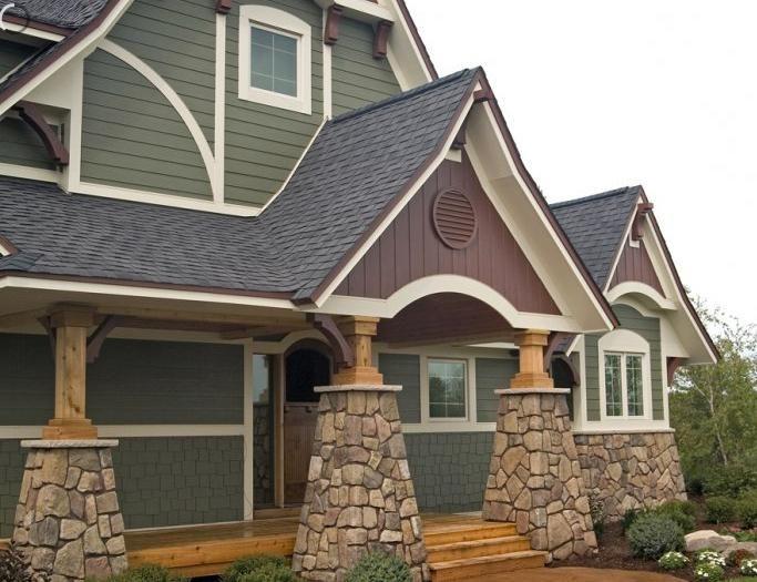 caseta de locuințe cu perete de vinil