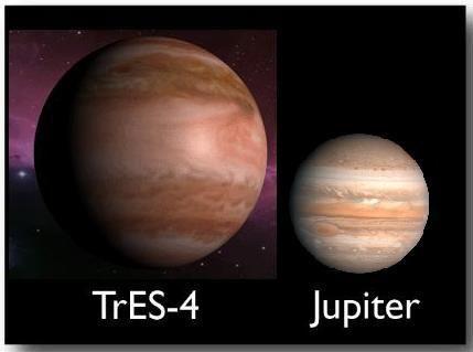 cea mai mare planetă din univers