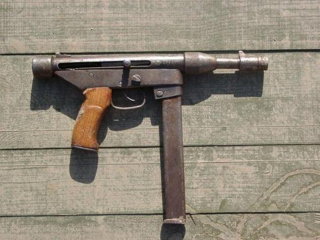 Un pistol de casa