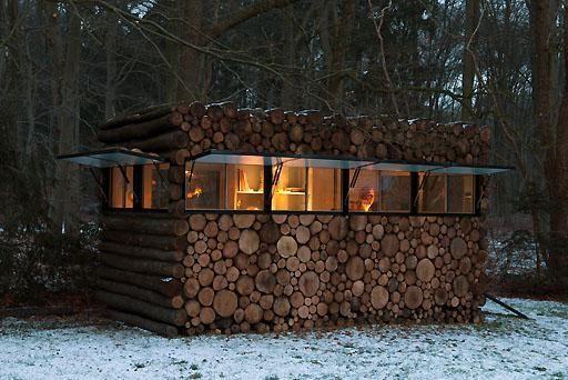 instalarea de ferestre din plastic într-o casă din lemn