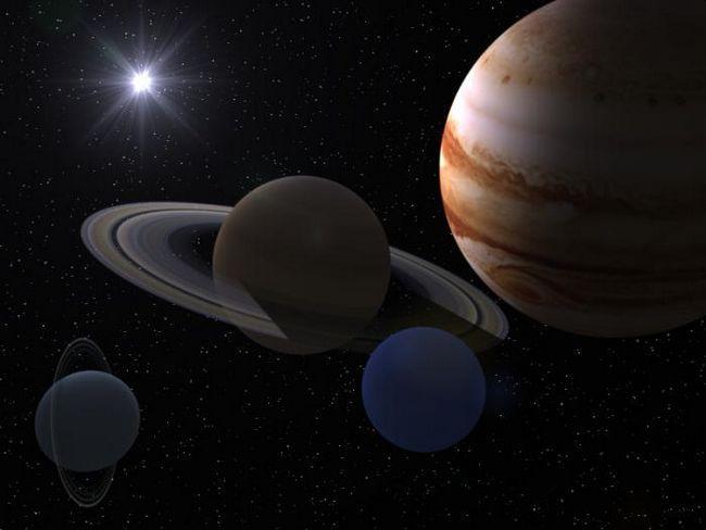 2 fapte despre giganții planetelor