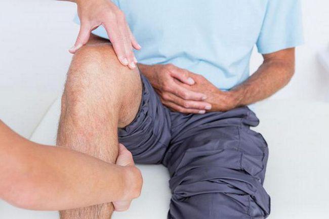 болезни колена человека