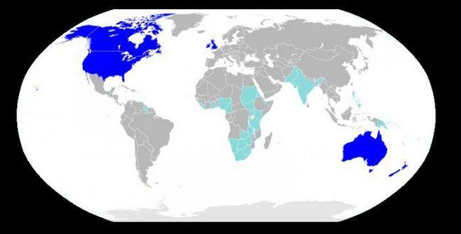 cea mai comună limbă de pe pământ