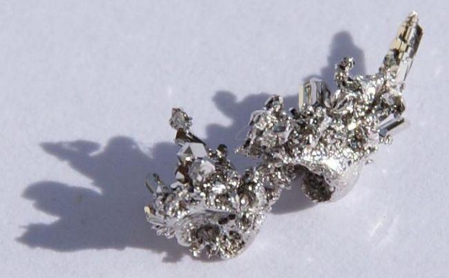 metale native în natură