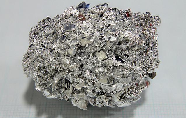 metale în crusta pământului
