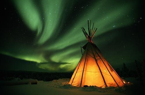 fotografie de lumină nordică