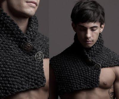 Ace de tricotat pentru bărbați