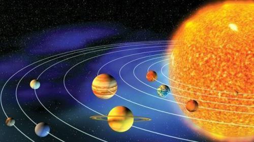 numele sistemului solar
