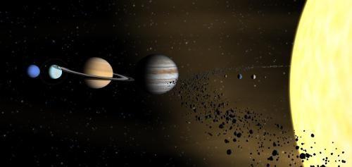 cometele sistemului solar