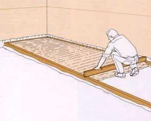 izolarea podelei